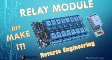 Relay module DIY Reverse Engineering