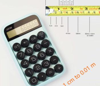 Centimetre to Metre Calculator